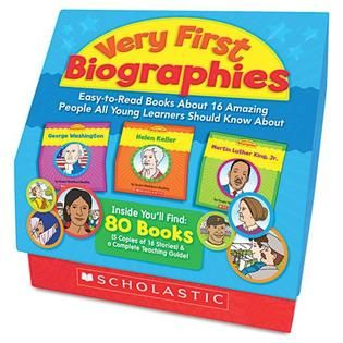 Scholastic Very First Biographies   Office Supplies   School Supplies