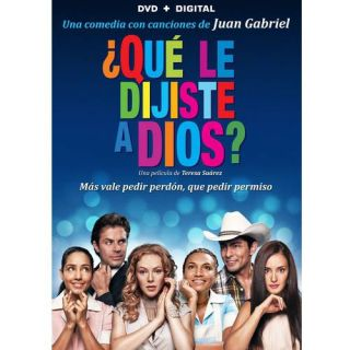 Que Le Dijiste A Dios (Spanish) (DVD + Digital Copy) (With INSTAWATCH) (Widescreen): Movies