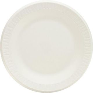Dixie Uncoated Paper Plates, 6 in., White, 1000 Per Case DIX 702622WNP6