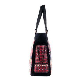 Womens Nicole Lee Saskia Fashionista Print Tote Bag Cover Girl