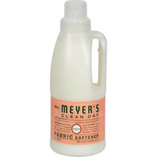 Mrs. Meyer'S Fabric Softener   Geranium   32 Oz (Pack Of 5)