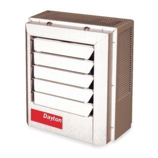 DAYTON Electric Unit Heater, Vertical or Horizontal, Voltage 208, 7.5 kW, 1 or 3 Phase   Electric Unit Heaters   2YU68|2YU68