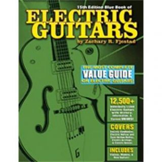 Hal Leonard Hal Leonard Blue Book of Electric Guitars – 15th Edition