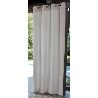 "allen + roth 108"" Cream Outdoor Curtain Panel"