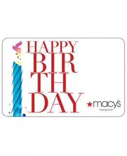 Happy Birthday Gift Card with Letter   All Occasions   Gift