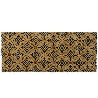 Rubber Cal Classic Fleur de Lis French Door Mat (24 x 57)
