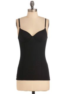 Camisole Sister Top in Black  Mod Retro Vintage Short Sleeve Shirts