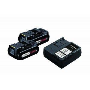 Panasonic Power Tools EYC941B Cordless Power Supply Kit w/14.4V 4.2Ah Li ion Type S Battery Packs & Charger