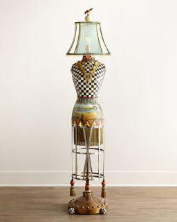 MacKenzie Childs Dressmakers Floor Lamp