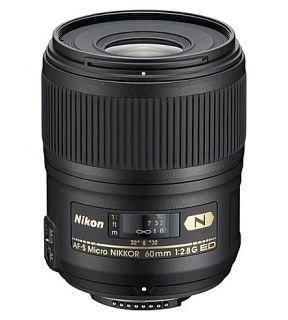 NIKON   AF S 60mm f/2.8G ED Micro NIKKOR lens