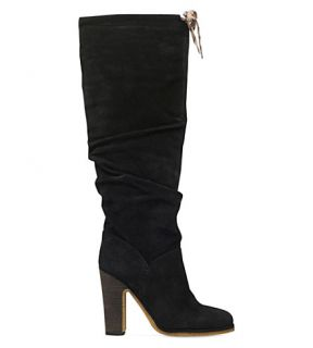 SEE BY CHLOE   Jona suede knee high boots