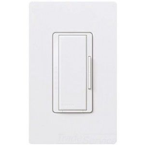 Lutron RK AD 10 WH Dimmer Color Change Kit for RadioRA, Maestro RD RD Remote Dimmer, 120 VAC at 50/60 Hz   Gloss White