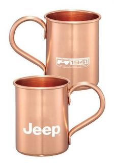 Jeep   75th Anniversary Moscow Mule Mug Set