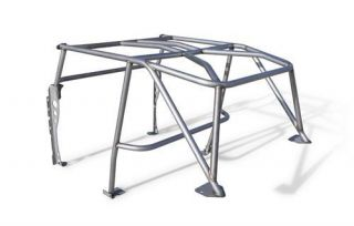 Poison Spyder Customs   Poison Spyder Customs Fully Welded Roll Cage Kit 14 19 010 W   Fits 1997 to 2006 Jeep TJ Wrangler and Rubicon