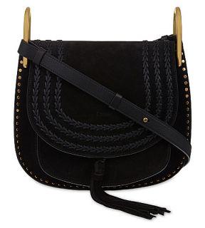 CHLOE   Hudson medium suede cross body bag