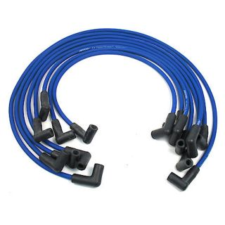 PerTronix 808311 Flame Thrower Spark Plug Wires 8 cyl 8mm GM HEI Custom Fit Blue 808311
