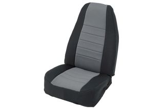2013 2016 Jeep Wrangler Neoprene Seat Covers   Smittybilt 471601   Smittybilt Jeep Neoprene Seat Cover Set