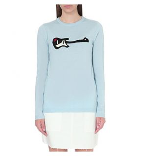 BELLA FREUD   Guitar Star wool blend jumper