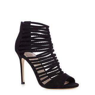 Faith Black Lady plaited strappy sandals
