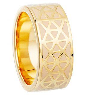 ASTLEY CLARKE   Prismic peach blush weave ring