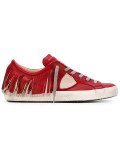 Philippe Model Fringed Sneakers   Galiano