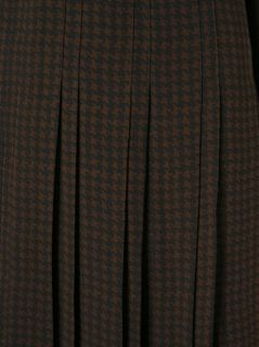 Jean Louis Scherrer Vintage Checked Skirt Suit   A.n.g.e.l.o Vintage