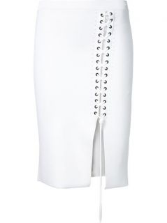 Alexander Wang Laced Detail Fitted Skirt    Twentyone St. Johns Wood