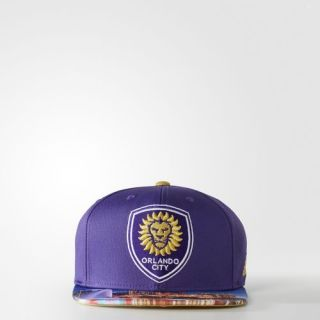 adidas Orlando City SC Snap Back Hat   Multicolor