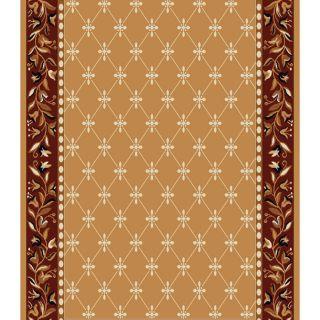 Home Dynamix London Sand Rectangular Indoor Woven Runner (Common: 2 x 18; Actual: 27 in W x 204 in L)