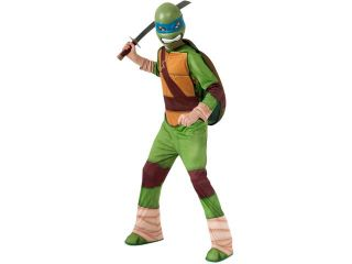 Childs Teenage Mutant Ninja Turtles Leonardo Costume Medium 8 10