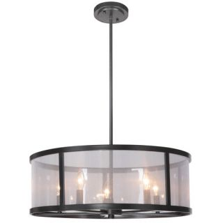 Danbury 5 Light Drum Pendant by Jeremiah