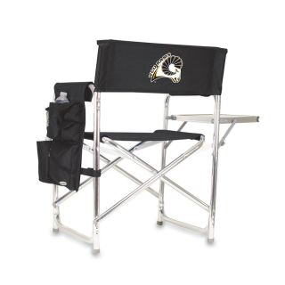 Picnic Time Black NCAA Virginia Commonwealth University Rams Aluminum Folding Camping Chair