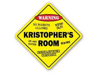 KRISTOPHER'S ROOM SIGN kids bedroom decor door children's name boy girl gift