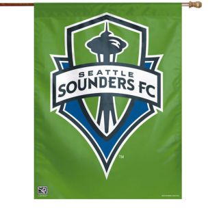 WinCraft Seattle Sounders FC 27 x 37 Vertical Banner Flag