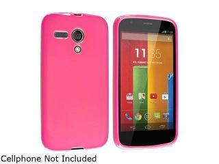 Motorola Moto G(1st Gen) Case, eForCity TPU Rubber Candy Skin Case Cover for Motorola Moto G(1st Gen), Hot Pink