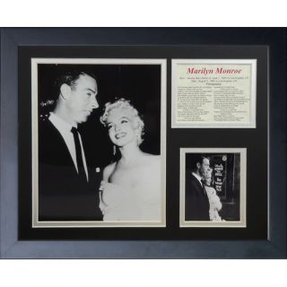 Legends Never Die Marilyn Monroe DiMaggio Framed Photo Collage