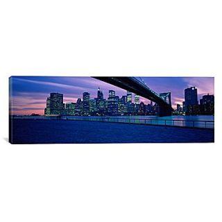 iCanvas Panoramic New York City Photographic Print on Canvas; 20 H x 60 W x 1.5 D