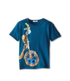 Dolce & Gabbana Kids Motorcycle Wheel Tee (Toddler/Little Kids)