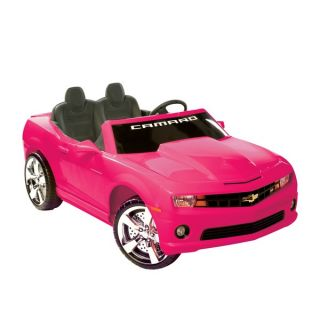Kid Motorz Pink Ride on 2 seater Chevrolet Camaro   13958216