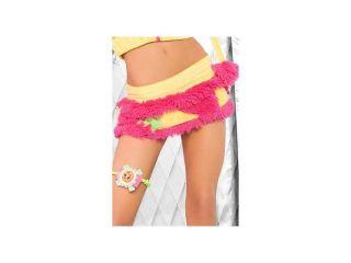 J. Valentine Monster Skirt JJ105 Pink Large