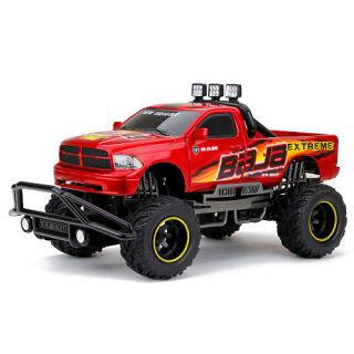 New Bright 1:10 Scale Remote Control F/F 9.6V Baja Extreme Truck   Red Dodge Ram    New Bright Industries