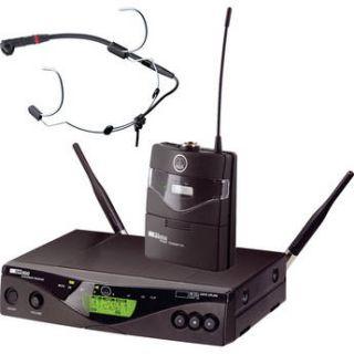 AKG WMS 450 Headset   Wireless Microphone System 3239X00380