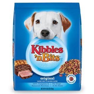 Kibbles n Bits Original Dog Food   45 lbs.
