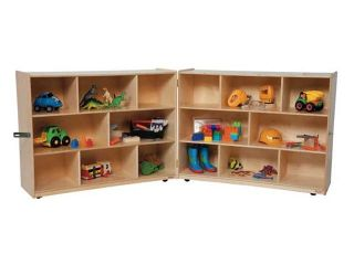 Kid's Play 8 Section Folding Storage Unit