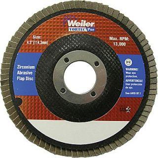 Vortec Pro 4 1/2 in (OD) 29 Angled Style ZrO2 Flap Disc, 60 (Medium), 7/8 in Arbor