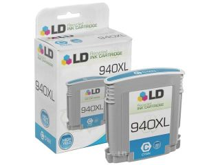 LD © Remanufactured Replacements for Hewlett Packard C4906AN 940XL / 940 High Yield Black Ink Cartridge for us in HP OfficeJet Pro 8000, 8500, 8500 Wireless, 8500a, 8500a +, & 8500A Premium