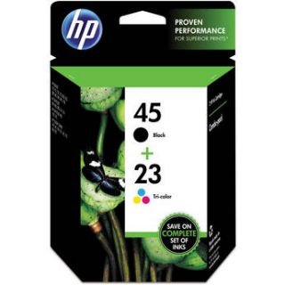 HP 45/23 Combo Pack Inkjet Print Cartridges C8790FN#140