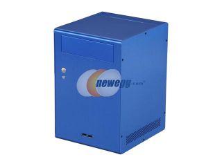 LIAN LI PC Q7I Blue Aluminum Mini ITX Tower Computer Case