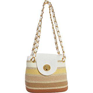 Magid Paper Straw Gradient Mini Chain Shoulder Bag