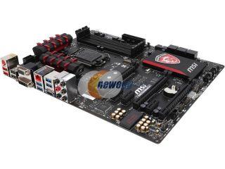 Open Box: MSI MSI Gaming Z97 GAMING 5 LGA 1150 Intel Z97 HDMI SATA 6Gb/s USB 3.0 ATX Intel Motherboard